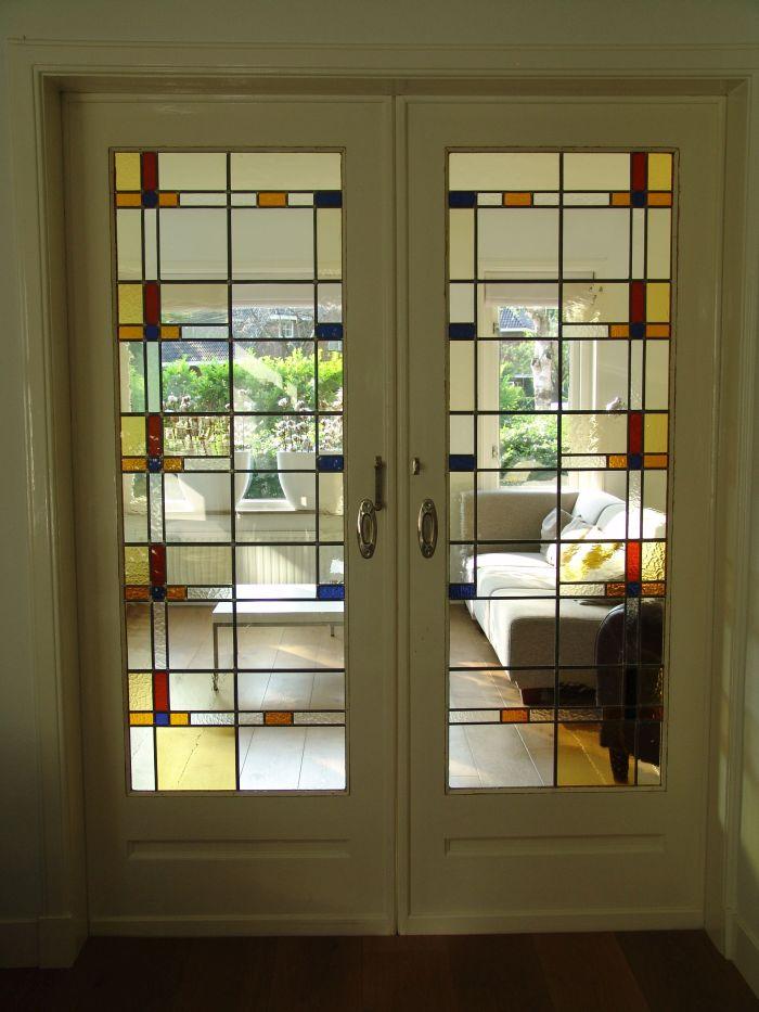 En Suite Schuifdeuren.Glas In Lood In Schuifdeuren Kamer En Suite Deuren